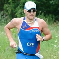 Leoš Roušavý auf dem Weg zum Sieg