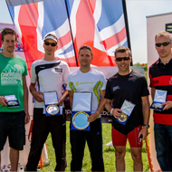 European Championships in Great Britain: Clark and Hirschfelder win the race