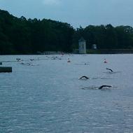 Schwimmen in der Koberbachtalsperre