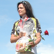 Strahlende Siegerin: Zuzana Kocumová