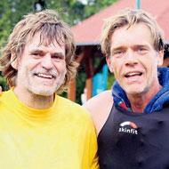Hartmut Bölke und Hajo Schumacher alias Achim Achilles