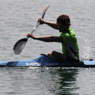 ...als nächstes ging dann auch Stefan Czambor auf den See...