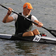 Simon Petereit, the fastest on the water