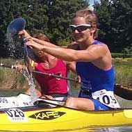 Lisa Teichert: also strong in kayak