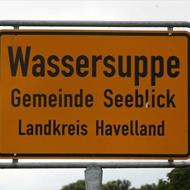 Wassersuppe, Gemeinde Seeblick