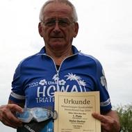 Stefan Barthel ist mit üner 70 der älteste Teilnehmer