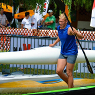 Lőrincz strong in swimming kayak and running