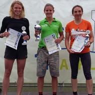 Die schnellen Damen am Samstag: Jansen, Teichert und Walter