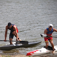 Csima and Peces lead after paddling
