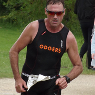 Fastest men Cliff Odgers