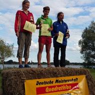 Frauen Podium: Pieber, Teichert und Walter